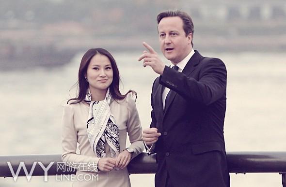 热酷游戏潘槿瑜:与英首相卡梅伦谈中英手游合作